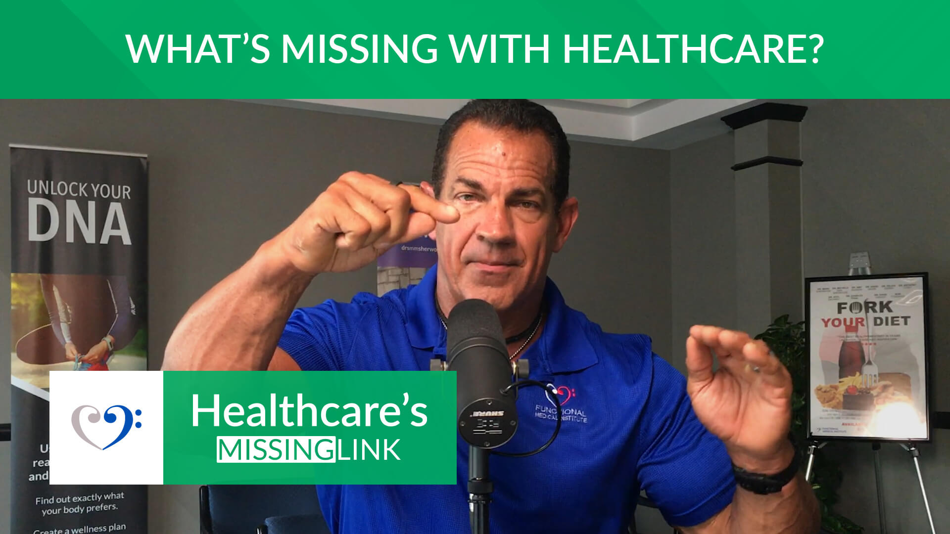 Ep 01: What's missing with healthcare?