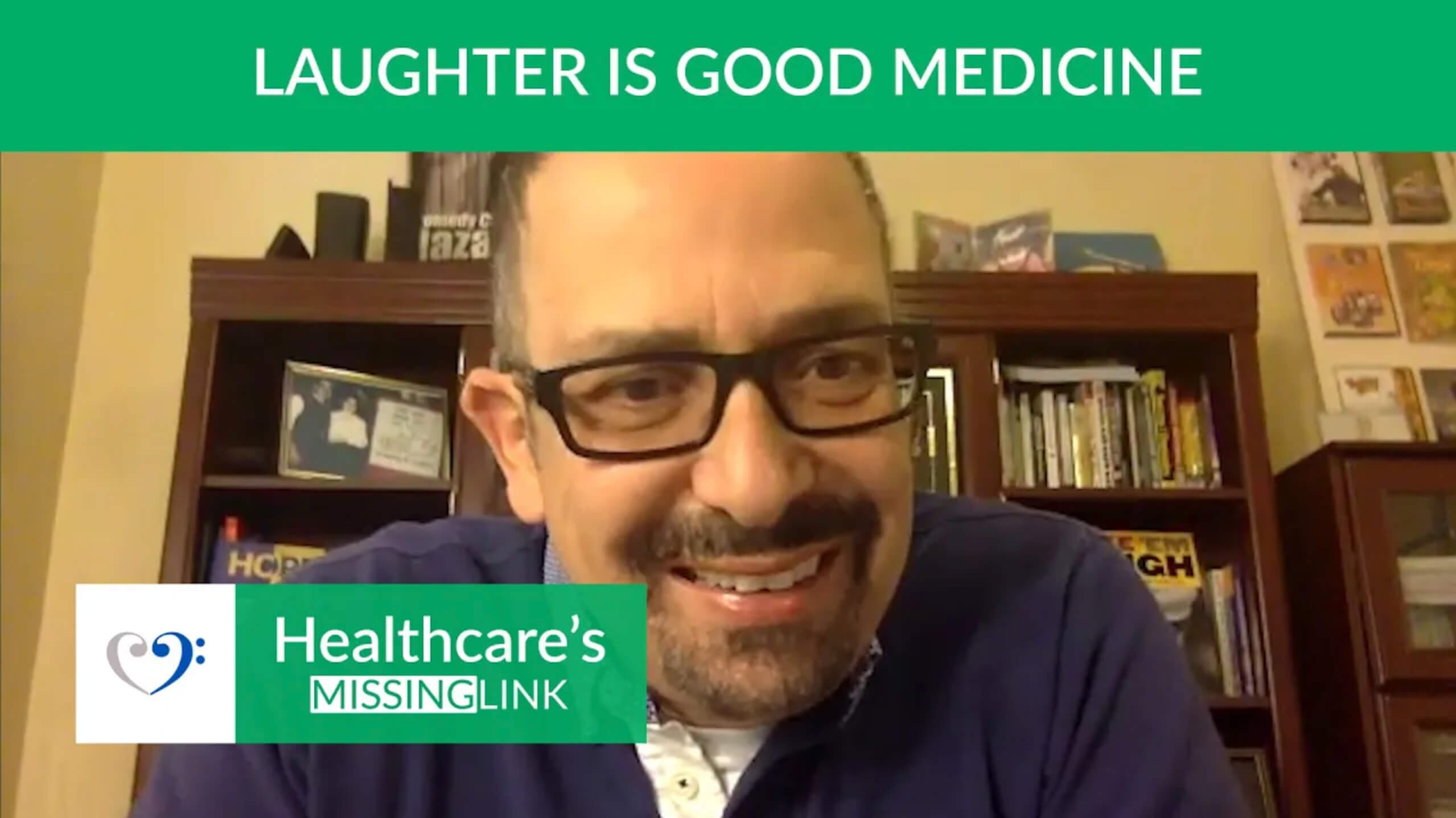 Ep 24: Laughter Is Good Medicine ft Comedian Nazareth