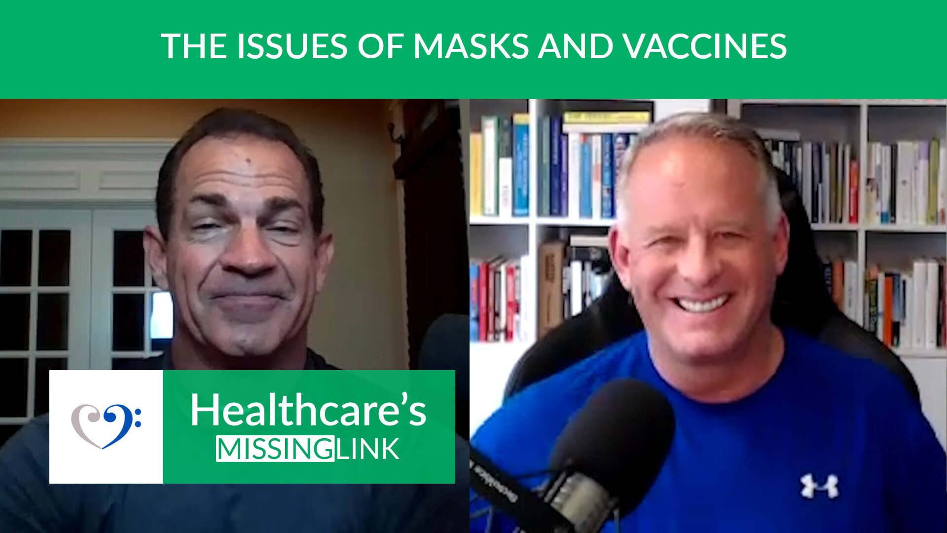 Ep 38: The Issues of Masks and Vaccines ft. Dr. Jim Meeham